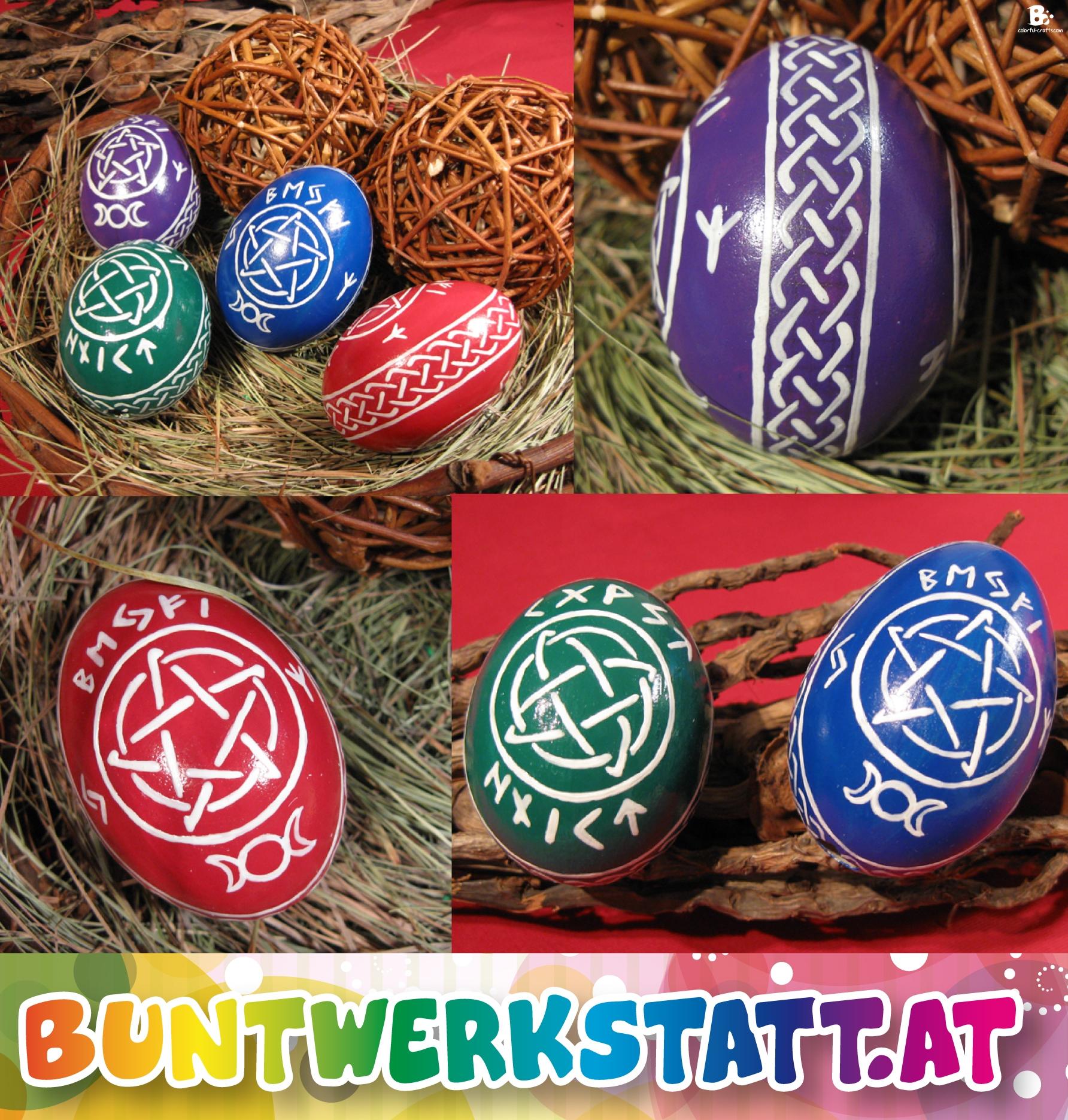 Ostara-Eier